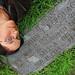 20130711_08k: 3000 backpacker points. | Jack Kerouac's grave | Edson Cemetery, Lowell, Massachusetts