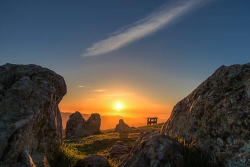 Sunset at Turtle Rock