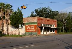 cokeycola (Landbe) Tags: rural texas coke 36 wallis smalltown route36 cokecola cokead hwy36 rt36 cokeisit ruraltexas texasroad wallistexas ruraltown paintedcokesign fmroute