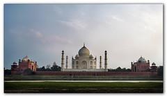 Taj rear view. (tassie303) Tags: india taj tajmahal agra hdr canon1740l