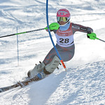 Beatrix LEVER of Canada takes 10th Place in the U16 Girls Slalom Race held on Whistler Mountain on April 6th, 2014. Photo by Scott Brammer - coastphoto.com - coastphoto.com