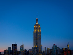 Empire State (jp3g) Tags: nyc newyork building twilight state dusk manhattan empire empirestatebuilding skyscrapper