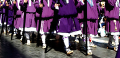 Marcando el paso (Juan Pedro Gmez-51) Tags: espaa spain purple christ jerusalem religion jesus murcia paso passion christianity cristo holyland gospel bearers jess semanasanta tierrasanta jesuschrist holyweek religiousart nazarenos nazarenes jesucristo procesin cristianismo morado costaleros religin religioussculpture pasin evangelio jerusaln christianart artereligioso photography artecristiano esculturareligiosa religious fotografareligiosa vadolorosa escultorsalzillo photoreligious thevadolorosa sculptorsalzillo thethronebearers