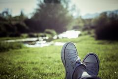 A year of sundays 10/52 (Mara, con M) Tags: feet field converse ayearofsundays