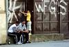 Cejl Street 7 (Kojotisko) Tags: street city people streets streetphotography brno cc creativecommons czechrepublic streetphoto persons cejl fujifilmfinepix fujifilmfinepixsl1000 fujifilmfinepixsl1000kojotisko
