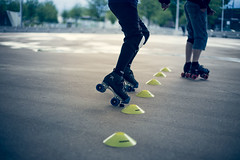 Entrainement des Graouwheels (Laurence Vagner) Tags: quad roller derby metz masculin centrepompidoumetz graouwheels