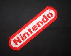 Nintendo Logo Bookmark (Crafty Guy) Tags: red japan logo japanese reading book diy pattern crafts nintendo ds center canvas plastic entertainment page marker nes trademark advance gameboy gamecube bookmark snes nintendo64 wii artscrafts plasticcanvas wiiu