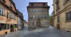 "Little square in Bamberg • <a style=""font-size:0.8em;"" href=""http://www.flickr.com/photos/45090765@N05/15767897284/"" target=""_blank"">View on Flickr</a>"