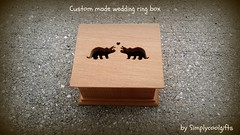 wedding ring box (simplycoolgifts) Tags: dinosaurs triceratops ringpillow ringbox weddingringbox ringbearerbox picmonkey:app=editor personalizedringbox custommaderingbox