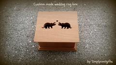wedding ring box (simplycoolgifts) Tags: dinosaurs triceratops ringpillow ringbox weddingringbox ringbearerbox picmonkey:app=editor personalizedringbox custommaderingbox