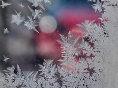 A cold morning (R_Ivanova) Tags: nature macro ice winter cold colors sony rivanova риванова природа зима koffeetime flickrlovers лед прозорец скреж frost window fav20