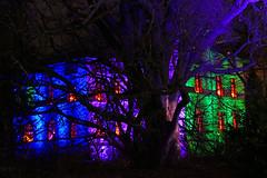P1000948b - Burning windows (JB Fotofan) Tags: house night lumix colorful nacht frankfurt haus panasonic palmengarten bunt winterlichter fz1000