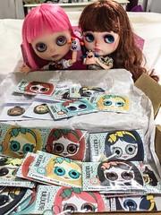 Amamos todos os novos olhinhos da tia Gisele Bianchini ❤️ E nossos monstrinhos são LINDOSSS! ❤️