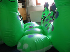 Two Nessies (Arambajk) Tags: pool up toy blow collection inflatable float blowup inflatables nessie drak pooltoy hraka lochneska draice nafukovac