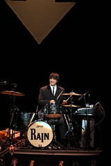 """Ralph Castelli in the Broadway Sacramento presentation of """"Rain: A Tribute to the Beatles"""" at the Sacramento Community Center Theater March 17 – 22, 2015. Photo by Cyllavon Tiedemann."""