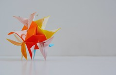 Phoenicia Kusudama (Byriah Loper) (Byriah Loper) Tags: paper origami paperfolding polyhedron modularorigami kusudama byriahloper