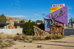 Sands Motel (bryanscott) Tags: california sign typography unitedstates joshuatree signage type twentyninepalms yuccavalley