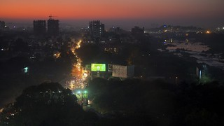 Sunset Over The Anthill - Pune, India