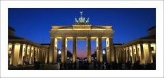 Brandenburg Gate Berlin - Blue Hour (Explored 2/19/2015) (Christian_from_Berlin) Tags: sunset vacation berlin history night germany deutschland war europe sonnenuntergang nightshot symbol sony capital hauptstadt unterdenlinden brandenburggate landmark explore worldwarii national berlinwall 1989 bluehour tor brandenburgertor iconic allemagne brandenburg citycentre 18thcentury sonycamera pariserplatz denkmal 1791 geschichte prussia lindentrees berlinmitte sehenswürdigkeit carlgotthardlanghans explored dorotheenstadt langhans inexplore johanngottfriedschadow neoklassizismus stiftungdenkmalschutzberlin frederickwilliamii ebertstrase sonycompactcamera galaxyaward sonyrx100 sonydscrx100 neoclassicaltriumphalarch sonydscrx100m2 sonyrx100m2 berlinbauwerk berlinmonumentconservationfoundation berlinsehenswürdigkeit berlinwallopening teilungberlin