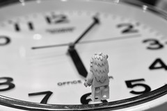 50:365 - Is that the time? (Lost Star) Tags: clock lego time yeti day50365 day50 365the2015edition 3652015 19feb15