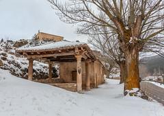 Penitencia a -7 (Jos Ferrando) Tags: color arbol nieve paisaje invierno teruel ermita aragn virgendelavega canon6d alcaldelaselva carmenpla