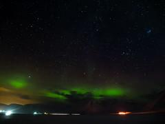 Northern lights Svalbard 2015 (Stokholm2007) Tags: lights olympus svalbard arctic aurora polar february northern spitsbergen borealis longyearbyen em1 2015