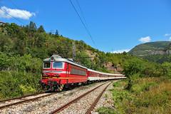 Summertime (Krali Mirko) Tags: electric train railway bulgaria locomotive skoda bdz 68e6