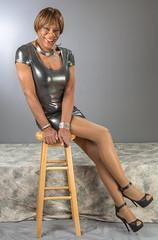 Nice Legs! (kaceycd) Tags: pumps highheels metallic s tgirl stilettoheels pantyhose crossdress spandex lycra tg stilettos minidress wetlook sexypumps opentoepumps stilettopumps peeptoepumps anklestrappumps