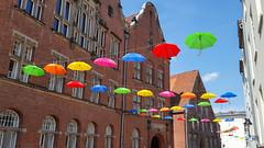 Hanse Kultur Festival Lbeck 2016 (brueggerhl) Tags: art umbrella de deutschland kunst lbeck sonstiges schleswigholstein regenschirm