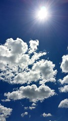 It's a beautiful day today :) (luv2photo20) Tags: summer sun clouds spring bright bluesky breeze sunnyday beautifulday