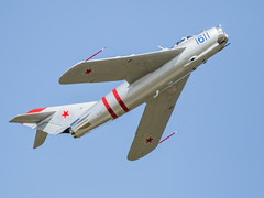 Just 17 - Mig-2 (4myrrh1) Tags: canon airplane virginia aircraft aviation airshow va hampton langley afb 2016 mig17 ef100400l 7dii