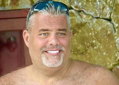 IMG_1575 (danimaniacs) Tags: shirtless man hot sexy guy smile beard mexico hunk puertovallarta stud scruff mansolo