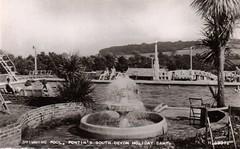 Pontins South Devon Holiday Camp, Paignton (trainsandstuff) Tags: vintage postcard paignton pontins holidaycamp southdevon
