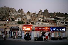 Goreme (NamiQuenbyBusy) Tags: turkey evening cappadocia busterminal goreme urgup turki