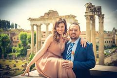 Serena & Daniele (Danilo Giovannangeli) Tags: wedding rome foriimperiali colosseo