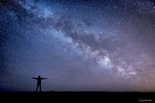 Space is THIS Big ! - Milky Way, Embleton, Northumberland