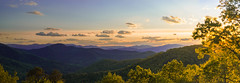 Nantahala Panorama (Stephen T) Tags: trees panorama mountains forest landscape outdoor north national carolina wilderness 200mm