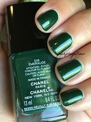 Chanel Emeraude (purple yellow) Tags: nail polish chanel emeraude 536