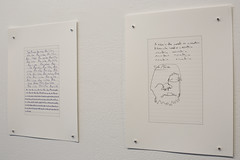 Project 12: Blind Contours (zephyrgallery1) Tags: art abandoned poetry journal louisville mobydick zephyrgallery