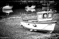 Fishing Boat (craigparkes09) Tags: uk england blackandwhite bw fish nature water beauty stone boats photography boat fishing sand cornwall harbour sony awesome scene impact stunning visual hayle a6000 sonya6000