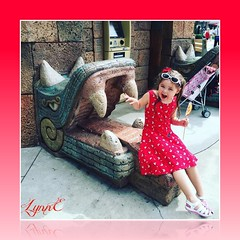 Violet in Disneyland (Lynn English) Tags: violet disneyworld