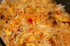 Egg fried rice served with dried chilli chicken (WorldClick) Tags: chicken home cooking canon photography eos photo yummy flickr colours photographer with rice sauce beef tofu egg chinese vivid tasty worldwide photograph eggs peppers served dried chilli capture tilda coriander soya fried foodie cusine phototgraphy belll 1100d canoneos1100d worldclick worldclickphotography worldclickphotographers eggfriedriceservedwithdriedchillichicken