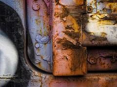 Train car detail, Monroe, CT (Edwaste) Tags: rust decay erosion oxidation corrosion
