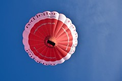 Red Letter Days (Nige H (Thanks for 4.8m views)) Tags: blue red sky balloon hotairballoon redletterdays