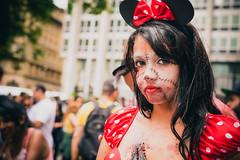 Zombie Minnie (valDomingos) Tags: portrait zombie zombiewalk