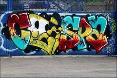 Caspa (Alex Ellison) Tags: urban graffiti boobs add graff eastlondon caspa