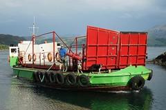 MV Glenachulish, Skye Ferry (Tom Willett) Tags: skye ferry scotland highlands isleofskye glenelg sleet kylerhea carferry soundofsleet turntableferry originalskyeferry