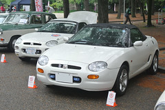 BCCM16060b (tanayan) Tags: park classic car nikon automobile meeting mg f nagoya british j1    tsuruma