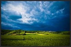 am Rheinsteig (NPPhotographie) Tags: sky art nature field landscape village magic creative magical oberberg npp sorm rheinsteig