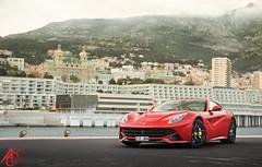 The Crowned Hillsides (AdamC3046) Tags: cars car top ferrari monaco carlo monte marques supercar supercars f12 v12 berlinetta 2016 mrjww
